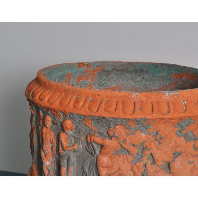 Italian High Relief Italian Terracotta, Circa 1900 For Sale - Image 3 of 9