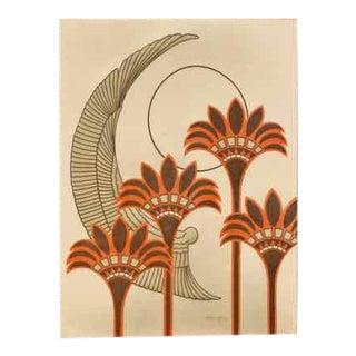Ron Brejtfus Mid-Century Textile Art