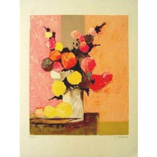 "Gilbert Artaud ""Bouquet Aux Citron"" Lithograph For Sale"