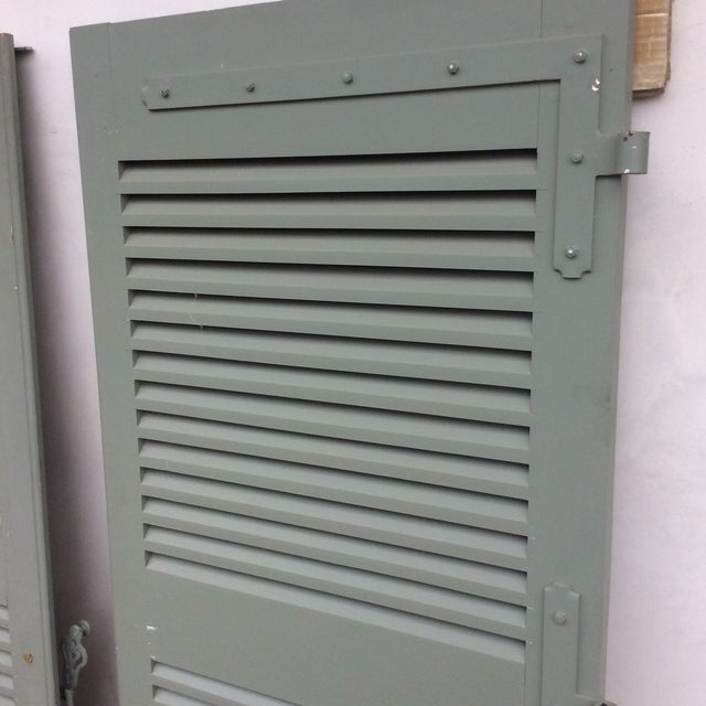 French Shutters- a Pair For Sale In San Diego - Image 6 of 11