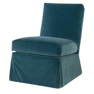 Highland House Amelia Skirted Chair For Sale