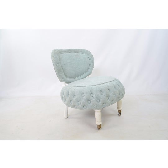 Victorian-Style Boudoir Chair - Image 3 of 4