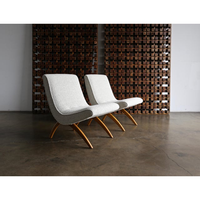 Milo Baughman Scoop Chairs for Thayer Coggin Circa 1955 - a Pair For Sale - Image 11 of 13