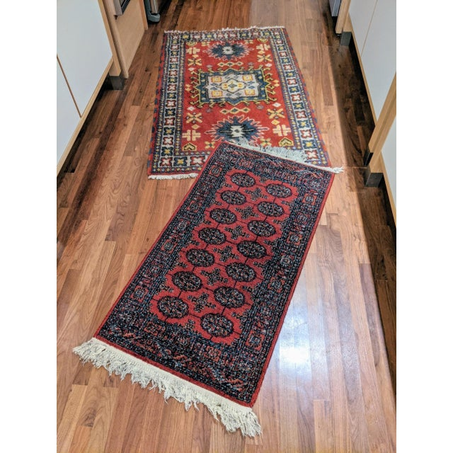 "Brick Red Karastan Bokhara Rug (2'-2"" X 4'-0"") For Sale - Image 8 of 9"