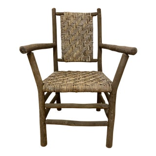1930s Indiana Hickory Furniture Company Chair Arm Chair For Sale