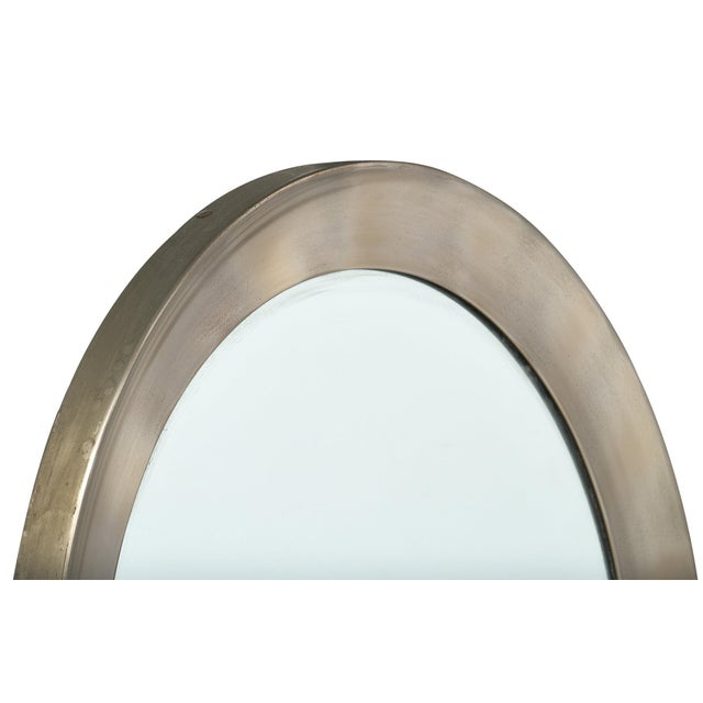 Vintage French Mid-Century Mirror For Sale - Image 4 of 11