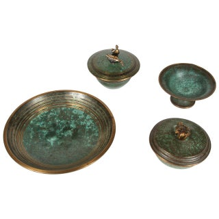 Carl Sorensen Bronze Vessels - Set of 4