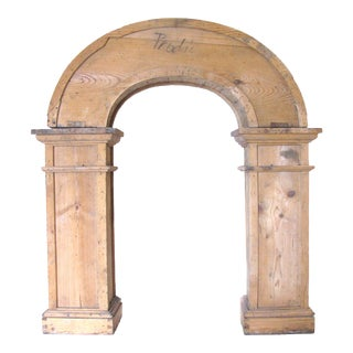 French Wooden Arch for Garden or Decor For Sale