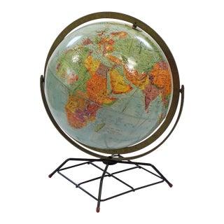 Vintage Replogle Mid Century Globe For Sale