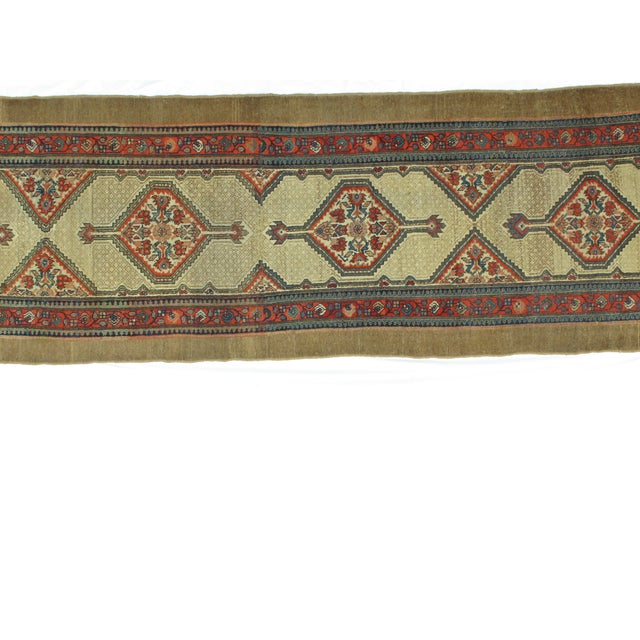 "Leon Banilivi Antique Sarab Runner - 3'5"" X 16' - Image 5 of 7"