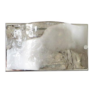 Carlo Nason Murano Glass Sconce / Flush Mount For Sale