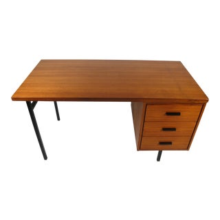 Three Drawer Danish Desk For Sale