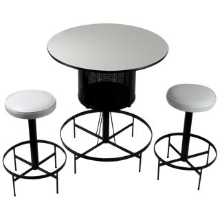 3-Piece Umanoff Bar and Stool Set For Sale
