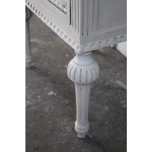 20th Century Swedish Gustavian Style Nightstands - A Pair For Sale - Image 9 of 13
