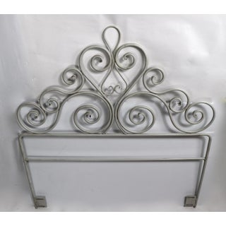 Pair Wrought Iron Scrollwork Headboards Preview
