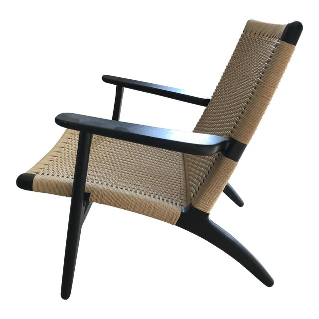 hans wegner ch25 easy chair chairish. Black Bedroom Furniture Sets. Home Design Ideas