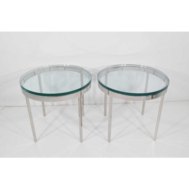 Nicos Zographos Nicos Zographos Side Tables - A Pair For Sale - Image 4 of 9