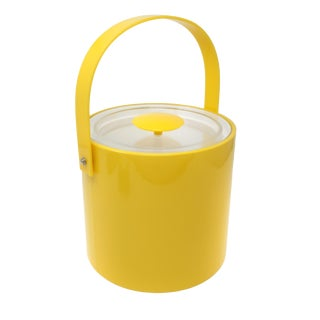 Yellow Georges Briard Ice Bucket For Sale