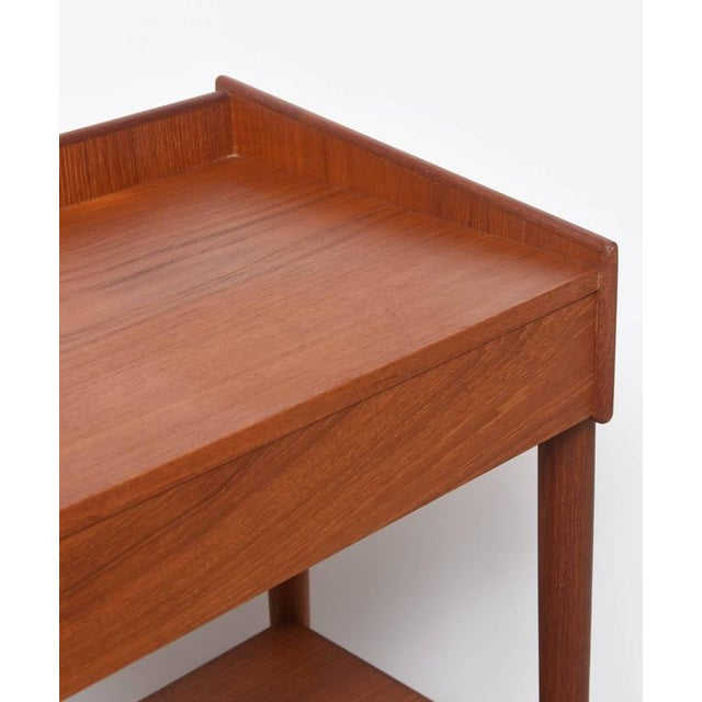 1960s Danish Teak Side Tables by Borge Mogensen for Soberg Moblefabrik - a Pair For Sale In West Palm - Image 6 of 11