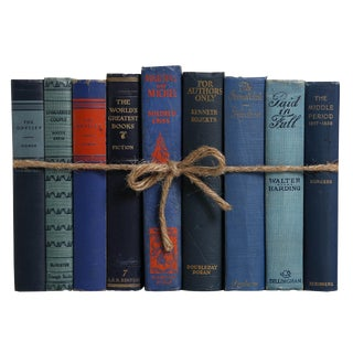 Vintage Denim ColorPak : Decorative Books in Shades of Blue