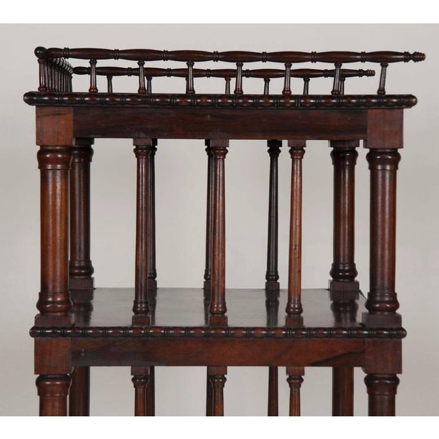 Brown William IV Rosewood Whatnot/ Etagere For Sale - Image 8 of 10
