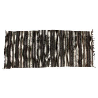 Striped Moroccan Rug - 5′7″ × 13′3″ For Sale