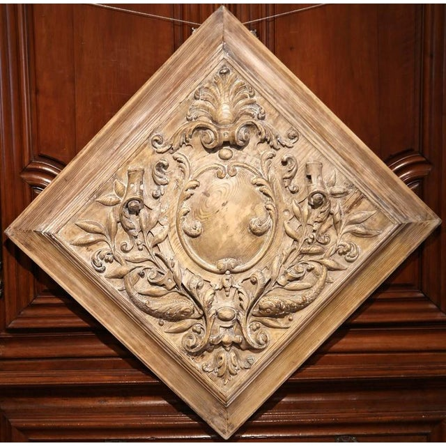 19th C. French Carved Plaque - Image 2 of 9