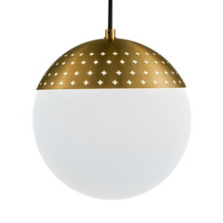 Opal Globe Light For Sale