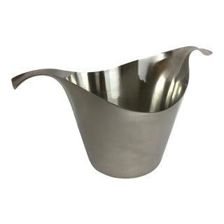 Vintage Sambonet Italian Design Ice Bucket or Wine Chiller For Sale