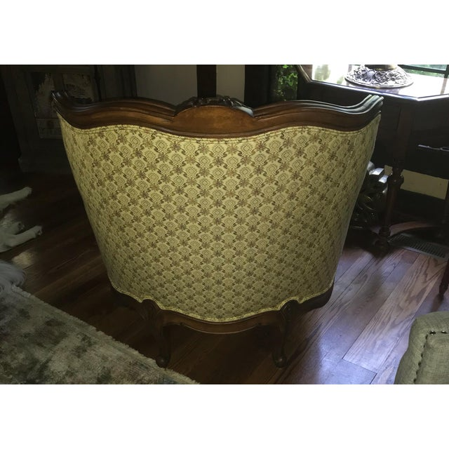 Lillian August for Drexel Oversized Bergere Chair For Sale In New York - Image 6 of 10