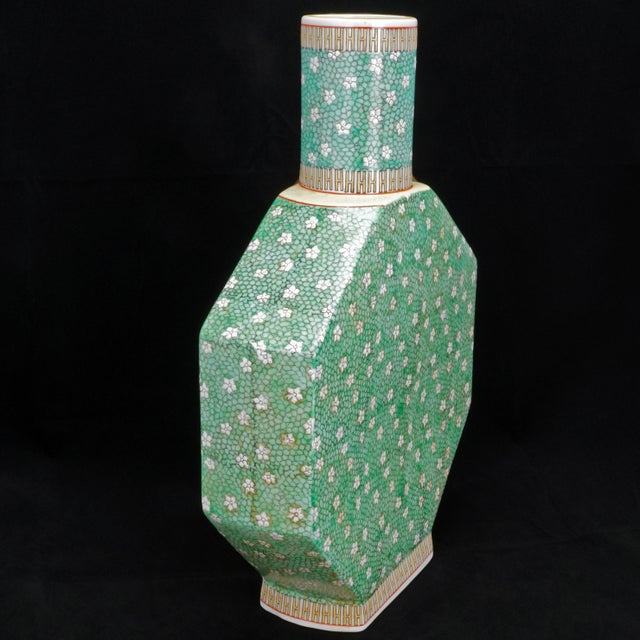 Early 20th Century Early 20th Century Chinese Porcelain Vase For Sale - Image 5 of 9