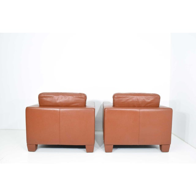 1990s De Sede Leather Lounge Chairs- Set of 4 For Sale - Image 5 of 11