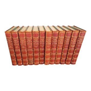 The Novels of Jane Austen Winchester Edition 1911-1912 Leather Bound Books - Set of 12 For Sale