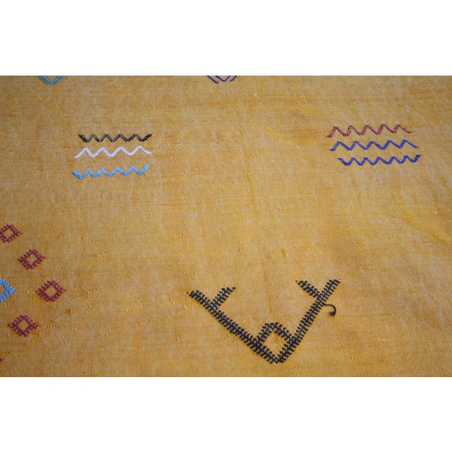 Moroccan Cactus Silk Rug - 3′4″ × 4′11″ - Image 3 of 3