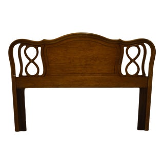 Dixie Furniture Country French Style Queen Size Headboard For Sale