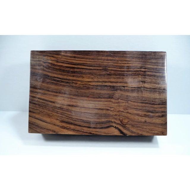 Vintage Pierced Wood Box - Image 7 of 7
