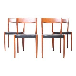 Svegards Markaryd Danish Modern Dining Chairs - Set of 4