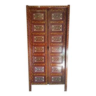Antique Moroccan Multicolor Decorative/Functional Door For Sale