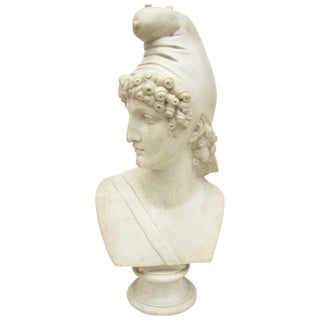 Mid 20th Century Marble Composite Bust For Sale