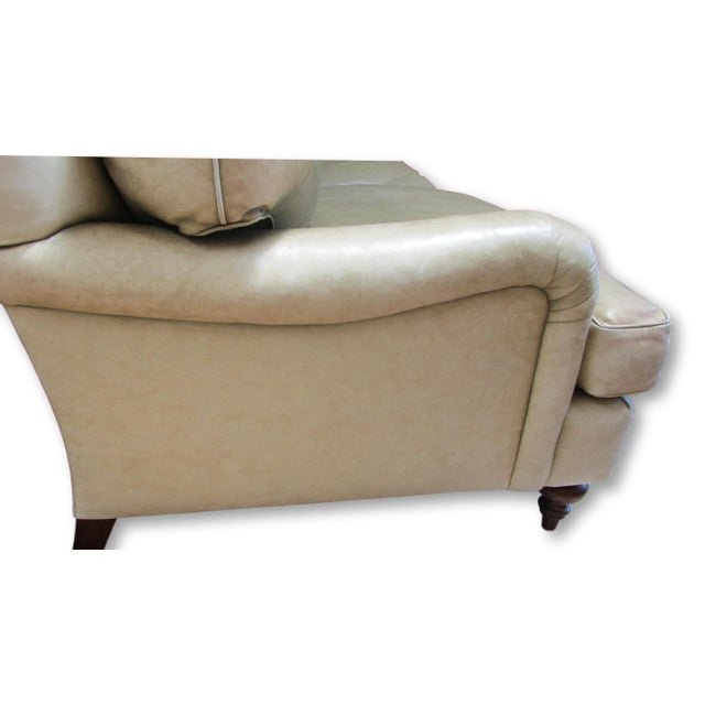 A. Rudin Leather Sofa - Image 3 of 10