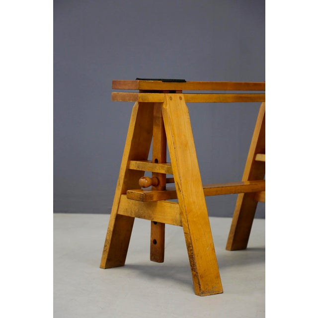 Mid-Century Modern Pair of MidCentury Easels for Leonardo Table by Achille Castiglioni for Zanotta For Sale - Image 3 of 8