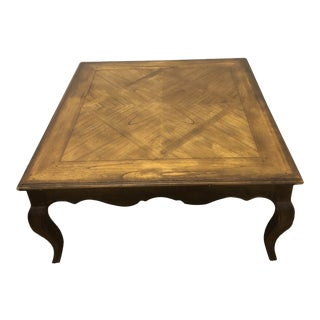1970s Traditional Hekman Coffee Table For Sale