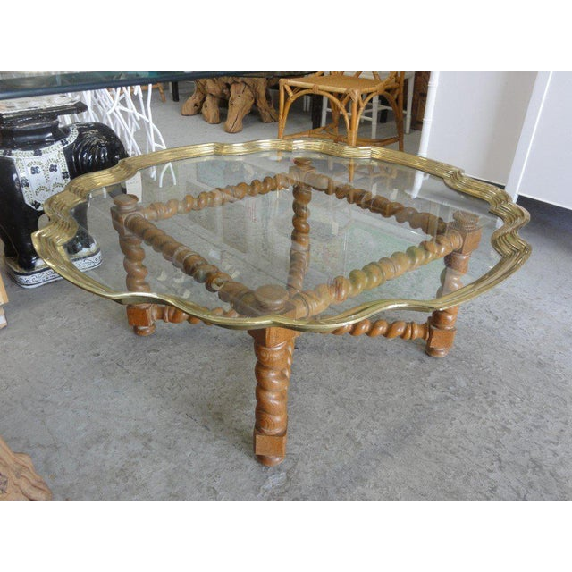Baker Pie Crust Tray Top Coffee Table - Image 11 of 11