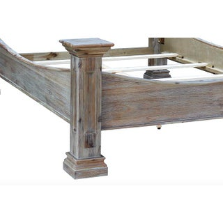 Rustic Wood Bed Preview