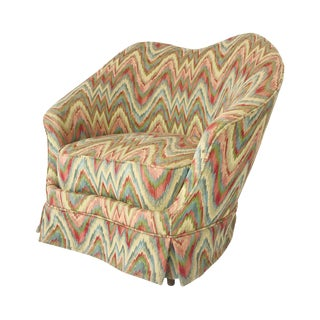 Federico Munari Chair in Original Missoni Fabric For Sale