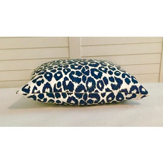 Contemporary Schumacher Iconic Leopard in Ink Pillow Cover, 18x18 Preview