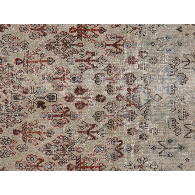 "Antique Persian Distressed Rug - 4'2"" X 6'3"" - Image 2 of 4"