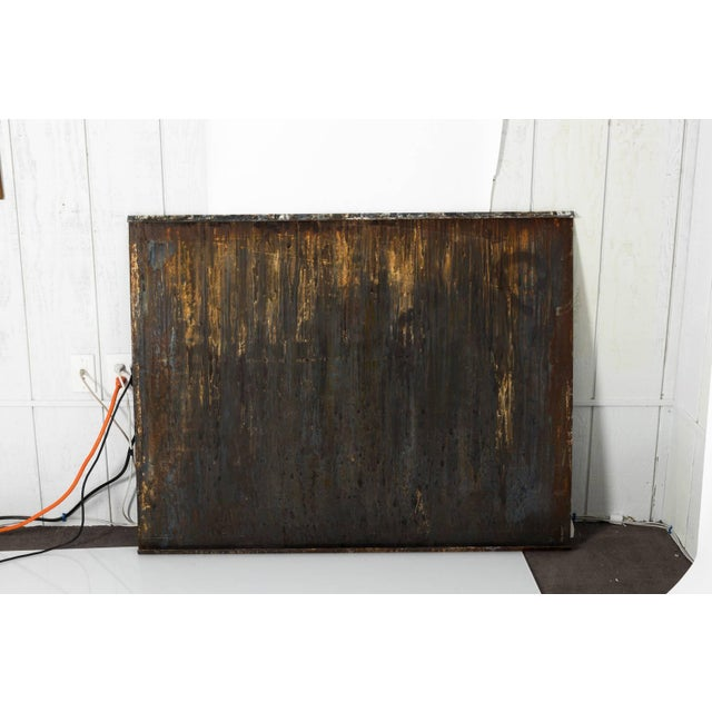Industrial Industrial Steel Art Panel For Sale - Image 3 of 11