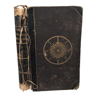 "1878 ""Guide to Practical Navigation"" Book"