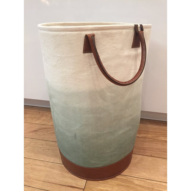 Animal Skin Jamie Young Faded Fabric Bin For Sale - Image 7 of 7